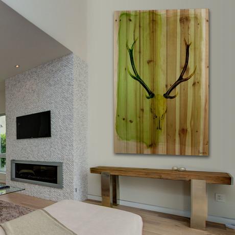 Horn // Natural Pine Wood