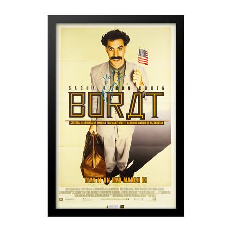 Borat Signed Movie Poster