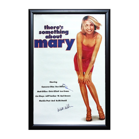 There's Something About Mary Signed Movie Poster