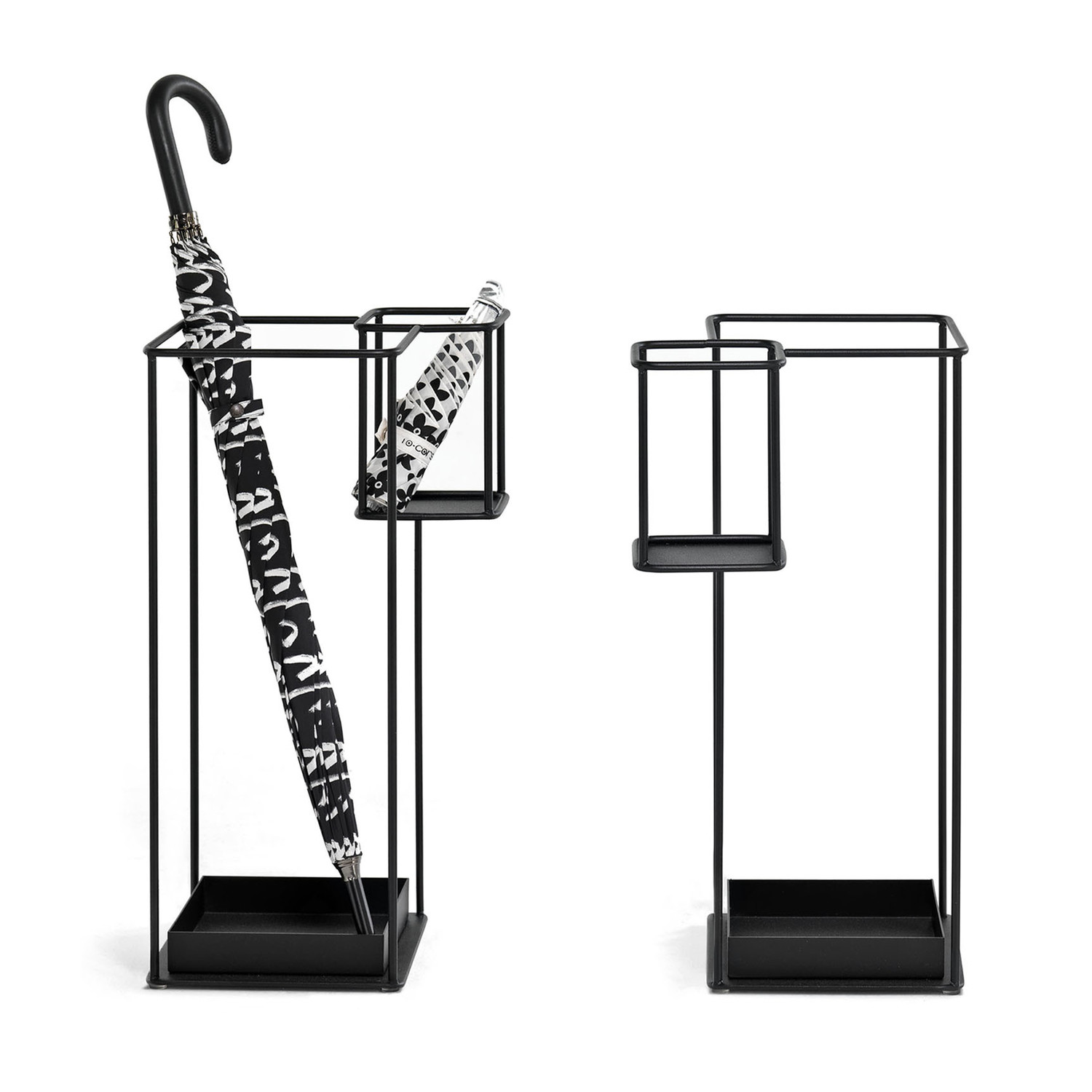 duo umbrella stand (black). duo umbrella stand (black)  mogg  touch of modern
