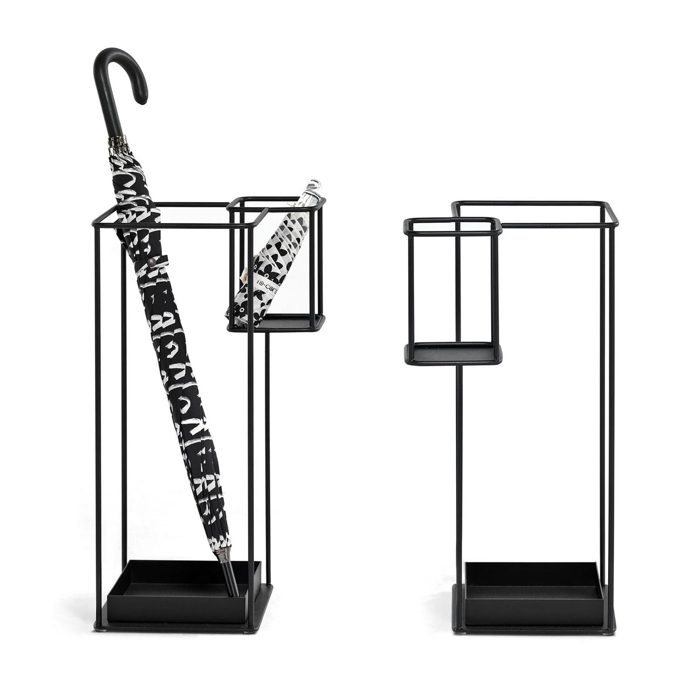 duo umbrella stand (black) - mogg - touch of modern Modern Umbrella Stand