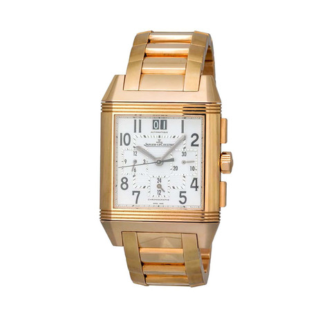 Jaeger LeCoultre Reverso Squadra Chronograph GMT Manual Wind // Q7012120 // Store Display