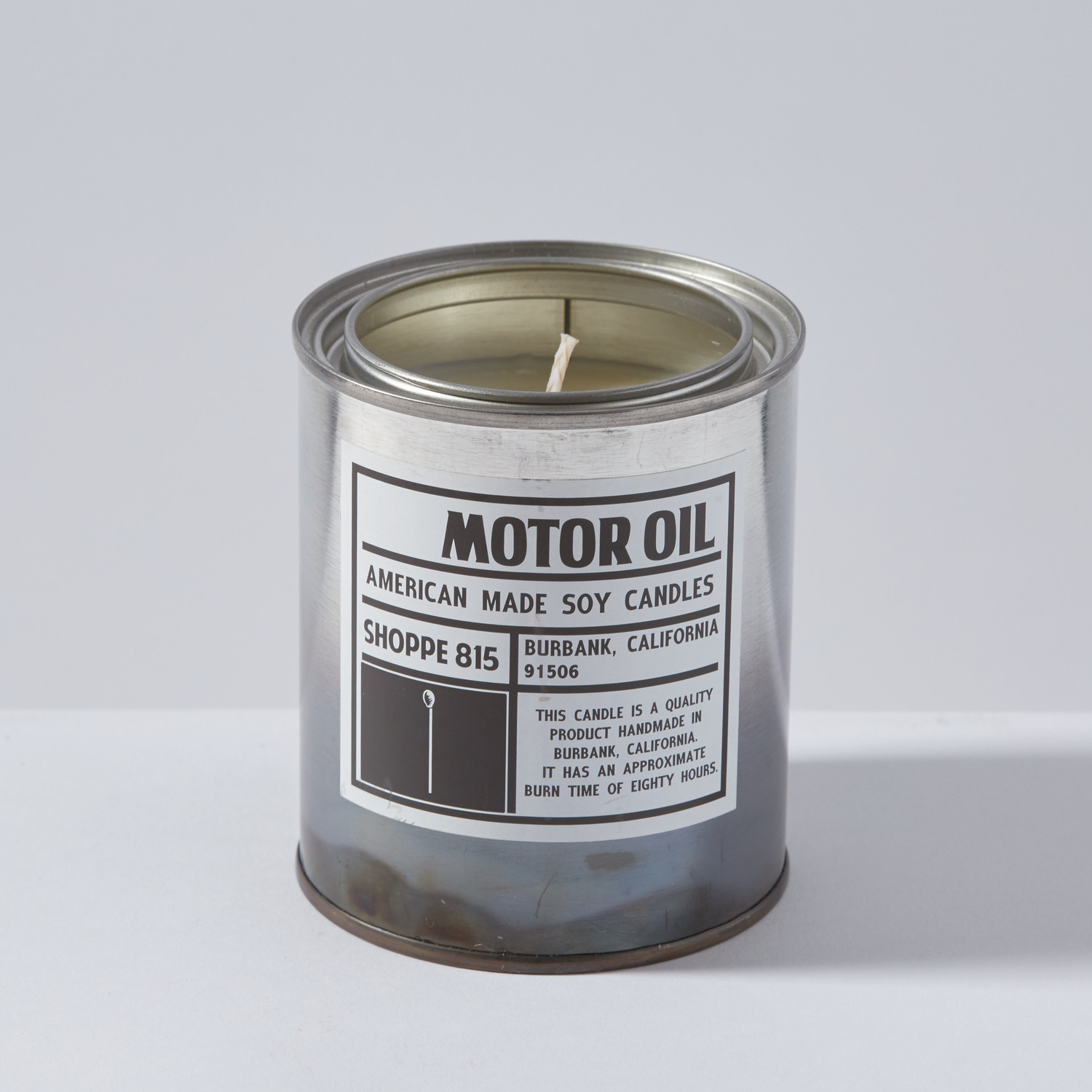 Motor oil candle shoppe 815 touch of modern for Sales on motor oil