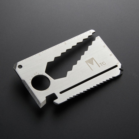 Minimal Multifunctional Tool Card