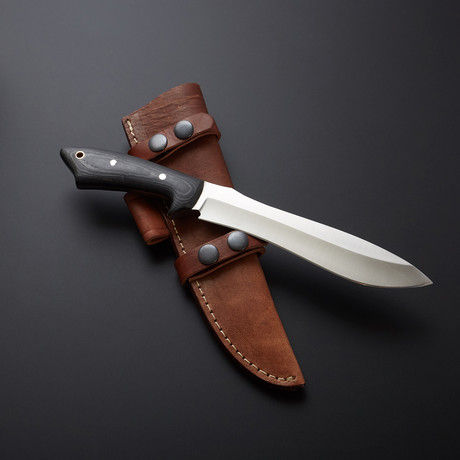 D2 Trail Scout Micarta Large Hunter