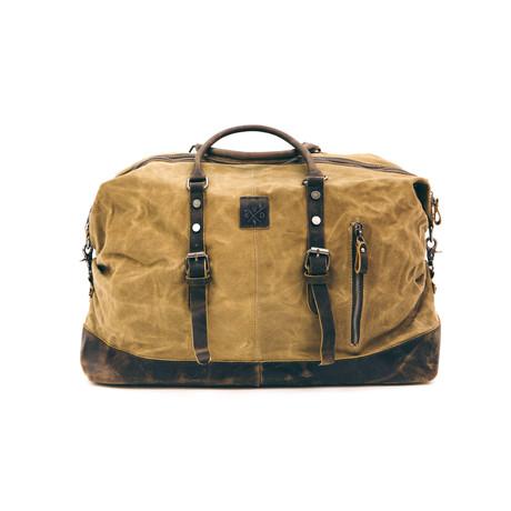 Humber Holdall Bag // Camel