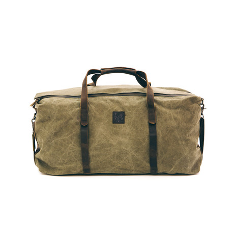 Sowe Holdall Bag // Moss