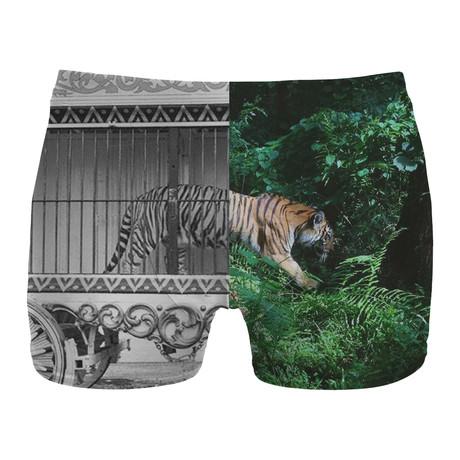 Tiger Cage Boxer Brief