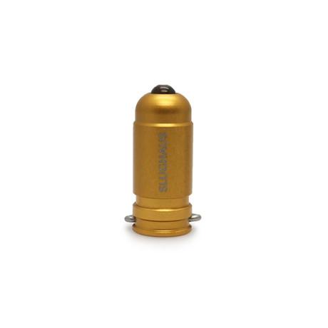 Bullet 02 // Matte Brass