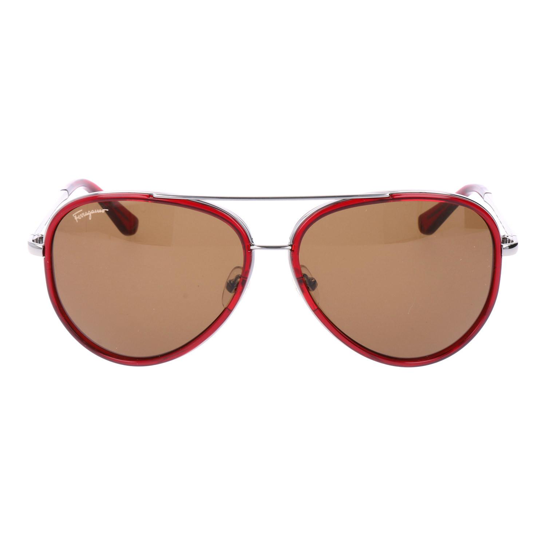 06c452375e Men s SF146S Sunglasses    Red - Salvatore Ferragamo - Touch of Modern