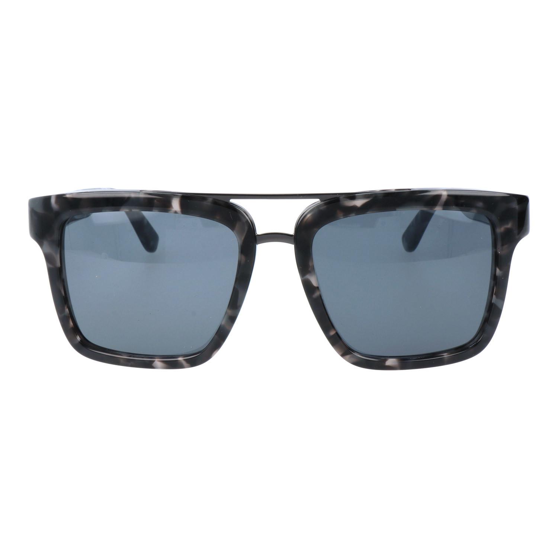 4080e985babe Thick Rim Navigator // Black Marble + Gunmetal - Salvatore Ferragamo ...