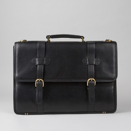 Joseph Daniel // Cashmere Napa Leather Letter Pad // Black