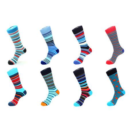 Dress Socks // Earn Your Stripes // Pack of 8