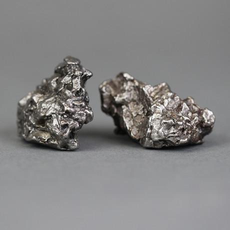 """Meteorite // Campo Del Cielo (1""""L x 0.75""""W x 0.75""""H)"""