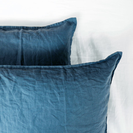 Pillow Sham Set // Legion Blue