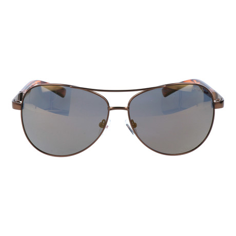 Curved Bar Aviator // Brown