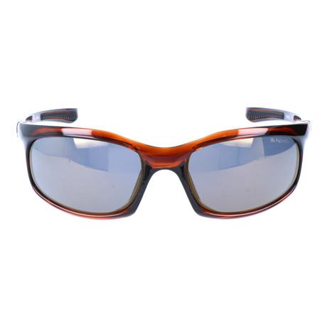 Chiseled Sport Sunglasses // Burgundy