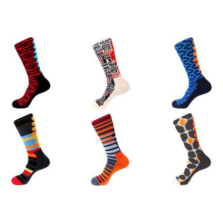 Athletic Socks // Portrait // Pack Of 6