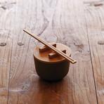 Kkini // Bowl + Chopsticks Set