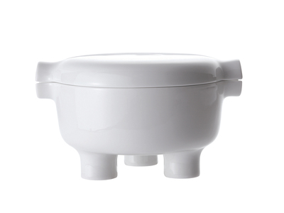 Photo of Jia Culture-Driven Kitchenware Ding // Bowl (White) by Touch Of Modern