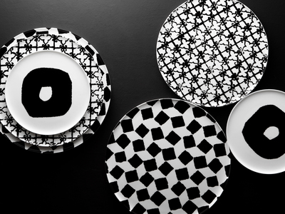 Jia Culture-Driven Kitchenware Emptiness // 3-Piece Plate Set // Limited Edition by Touch Of Modern - Denver Outlet