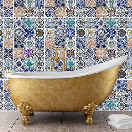 Mosaic Tile Patterns (Set of 6)