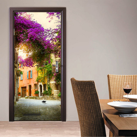 Spring Garden Door