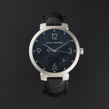 Louis Vuitton Tambour Damier Quartz // Q1D00 // Pre-Owned