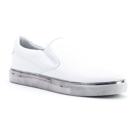 Martin Slip-On // White