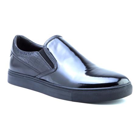 Dean Patent Slip-On // Black