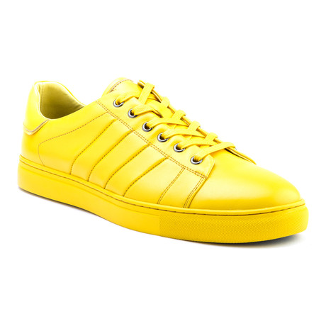 Mitchell Low-Top Sneaker // Yellow