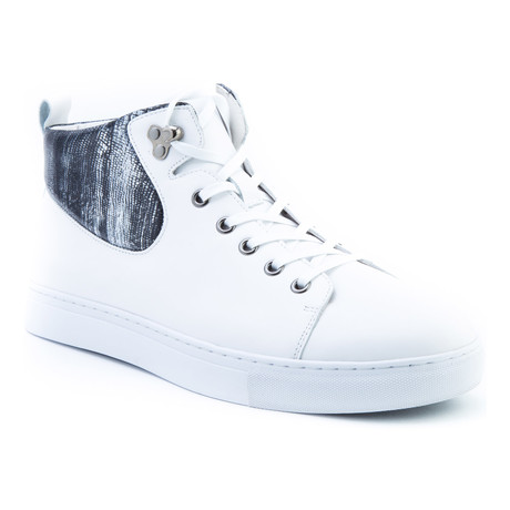 Carroll High-Top Sneaker // White (US: 8)
