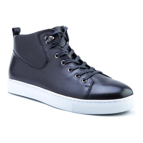 Sanders High-Top Sneaker // Black (US: 8)