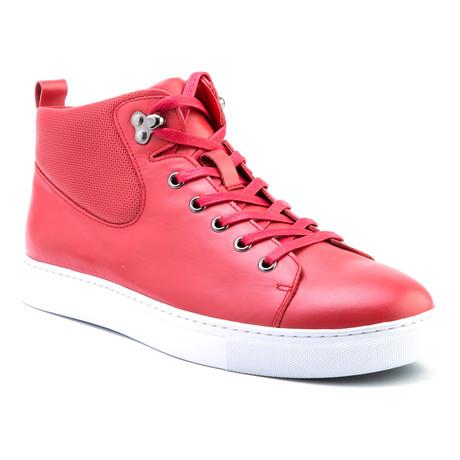 Sanders High-Top Sneaker // Red (US: 8)