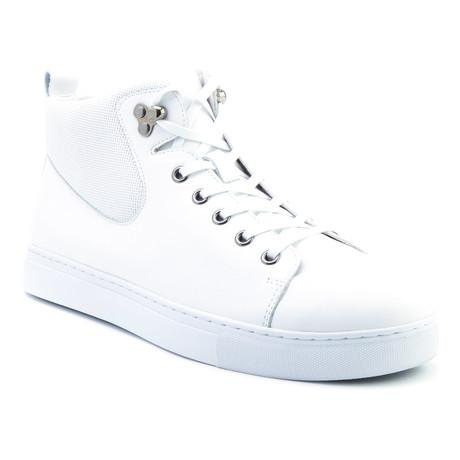 Sanders High-Top Sneaker // White (US: 8)