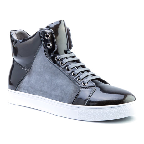 Douglas Patent High-Top Sneaker // Black (US: 8)