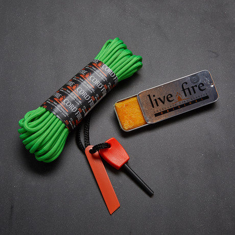 Ring O Fire // Safety Green