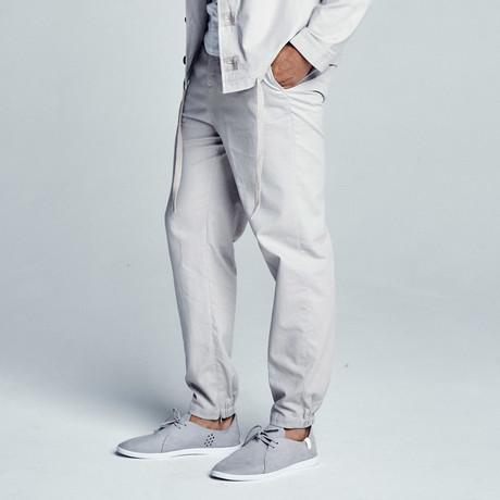 Ron Linen Jogger // Grey
