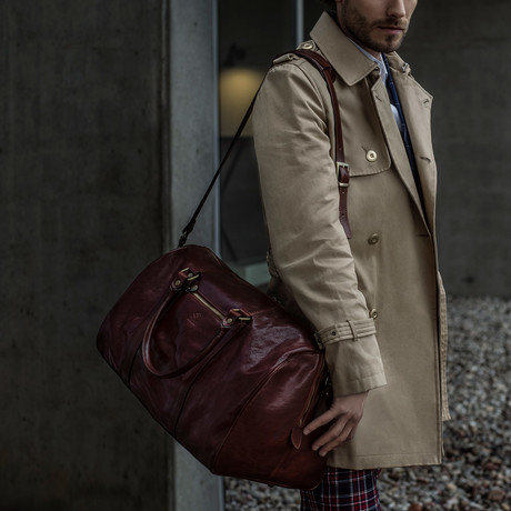 The Ambassador's Duffel Bag (Dark Brown)