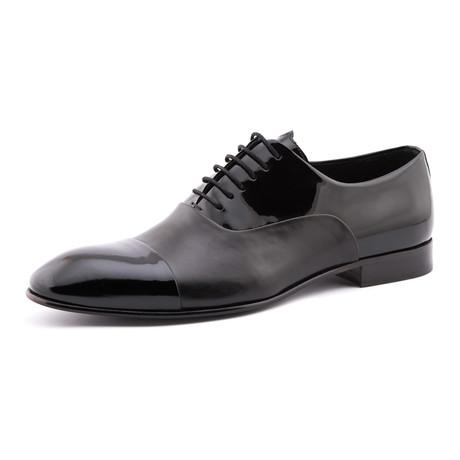 Dual Texture Dress Shoe // Black