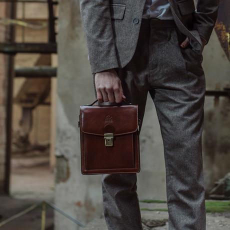 Walden Briefcase // Small // Brown