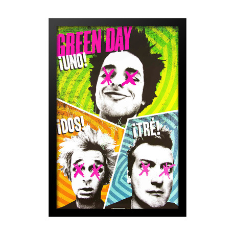 Green Day // Signed Poster