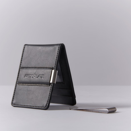 Slim Money Clip // All Black