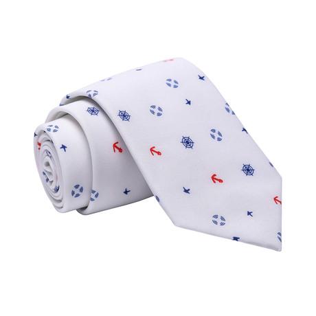 Miller Tie // White