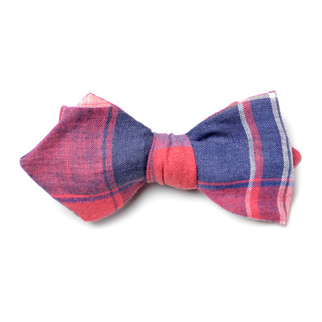 Bell Bow Tie // Red + Blue + White