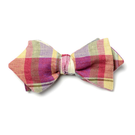 Meitner Bow Tie // Red + Yellow + Purple