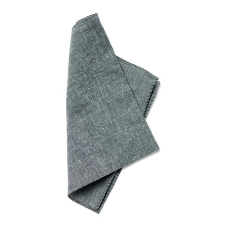 Copernicus Pocket Square // Grey