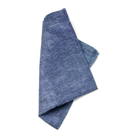 Dirac Pocket Square // Blue