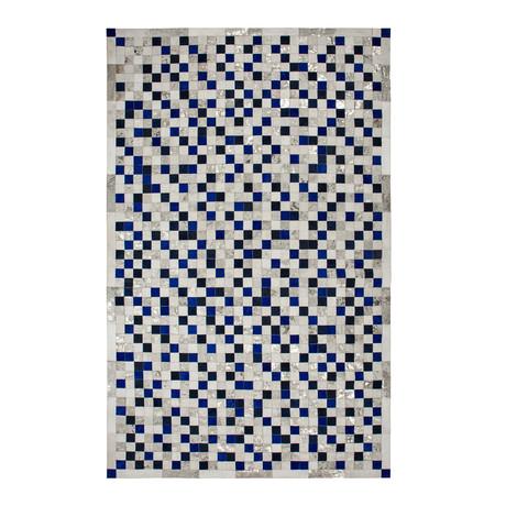 Samba Rug // Sapphire (5'L x 8'W)