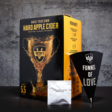 DIY Hard Cider Kit // Apple!